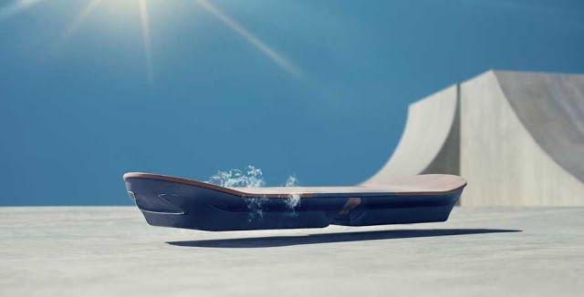 Lexus Membuat Skateboard Tanpa Roda Melayang Di Tanah