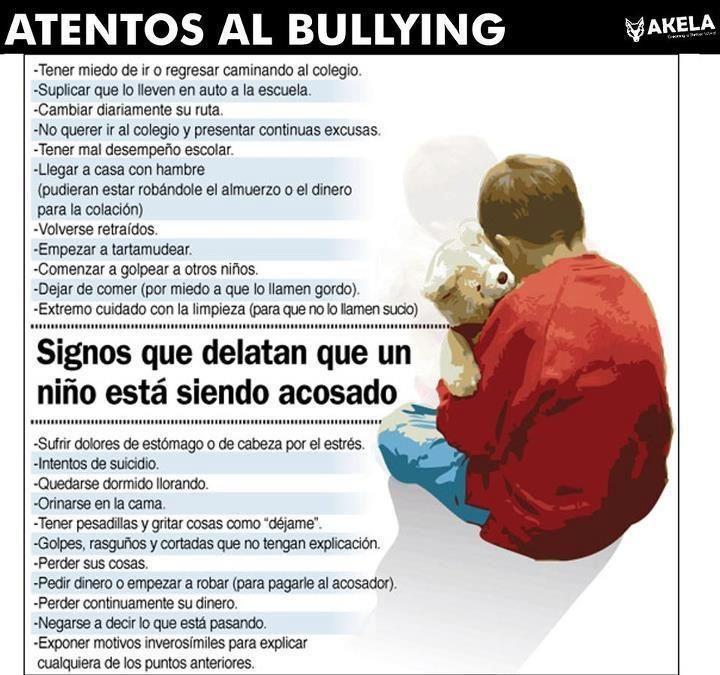 Cómo detectar el bullying