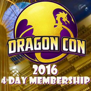 DRAGON-CON ATLANTA  AUGUST 2-5, 2016  (LIKE COMIC-CON BUT IN ATLANTA, AND MORE FUN!) Dragon Con Membership - 2016 ($130) WANT TO GO NEXT YEAR? KEEP AN EYE OUT: BUY TICKETS THIS YEAR FOR NEXT!