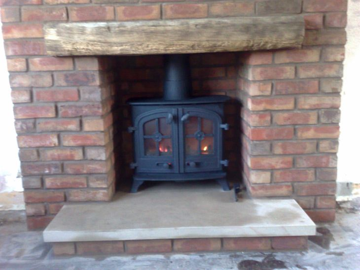 Yeoman Wood Burning Stove Interior Inspirations Brick