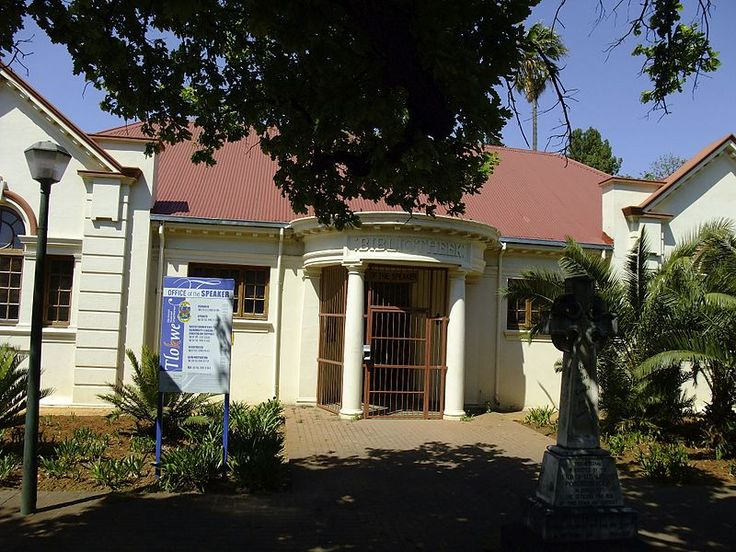 Type of site: Library.Carnegie Library, Potgieter Street, Potchefstroom (new street name: Walter Sisulu Avenue)
