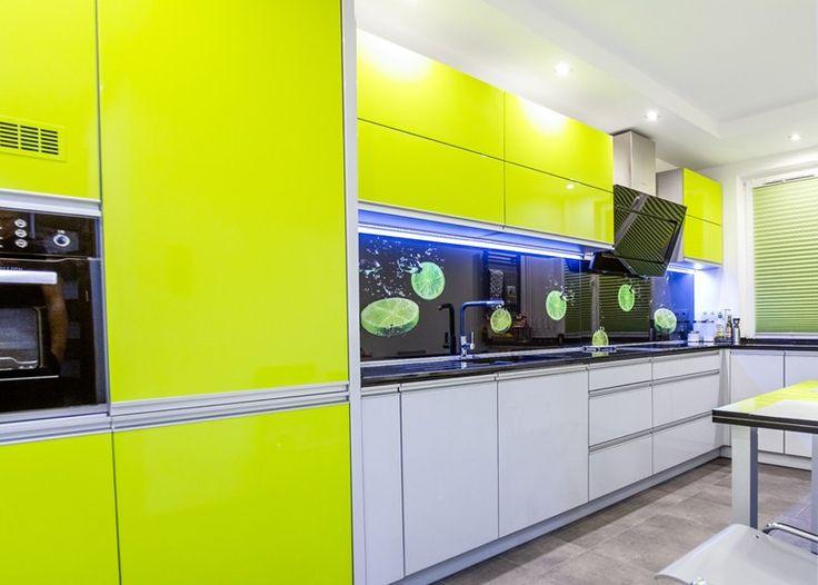Znalezione obrazy dla zapytania kolorowe kuchnie