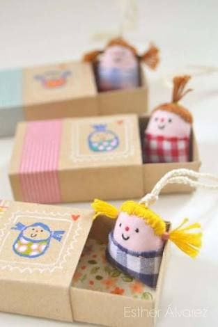 Image result for how to make toys out of recycled materials:dolls bed