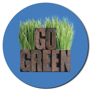 Green-ify the office with this #custom mousepad. It's made from 50% post-industrial waste and 50% sustainable resources. #epromos