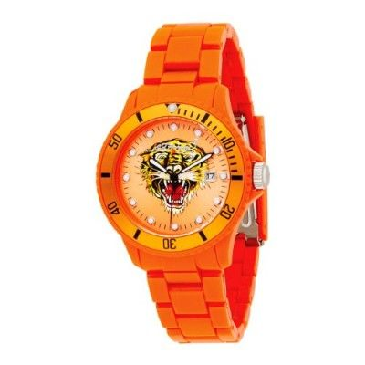 Relógio Ed Hardy Unisex VP-OR VIP Orange Watch #Relogio #EdHardy