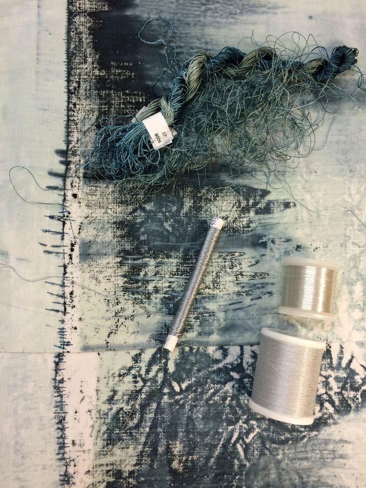 choosing threads - Helen Terry