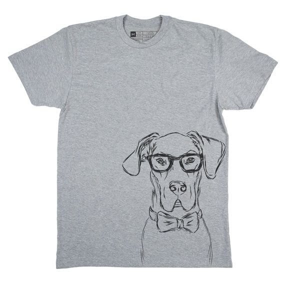 Harvey The Great Dane Men's T-Shirt - Great Dane Lover, Gifts For Dog Owner…