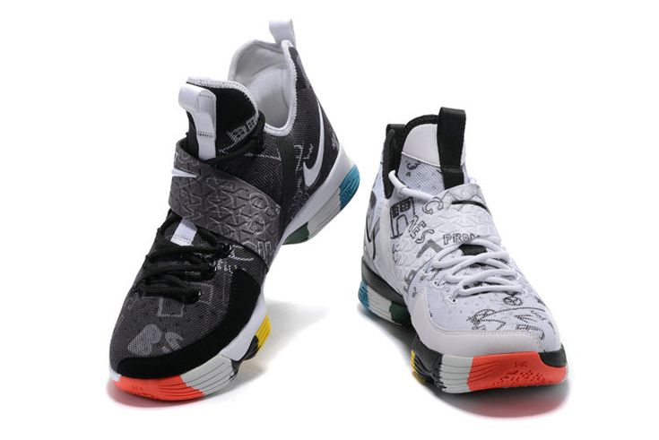 Latest LBJ Sneakers Cheap 2017 LeBron 14 XIV Low LeBron James Family Foundation What The Lebron