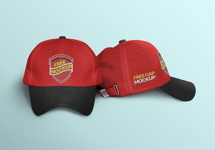 Baseball Cap Mockup With Embroidery Effect Free Download Free Mockup Cap Mockup