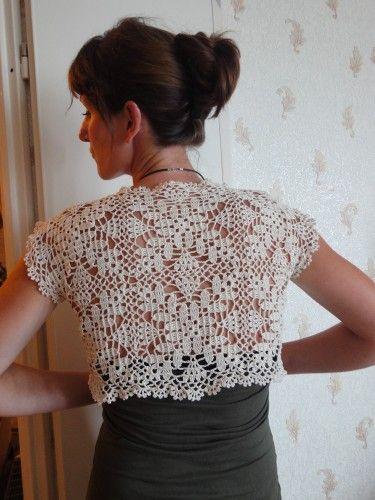 Bolero.       ♪ ♪ ... #inspiration_crochet #diy GB