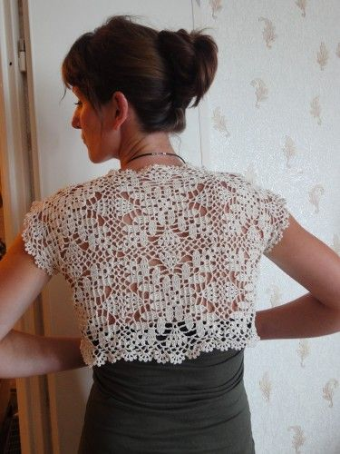 Crochet...the pattern is a chart in French...but I still like it!