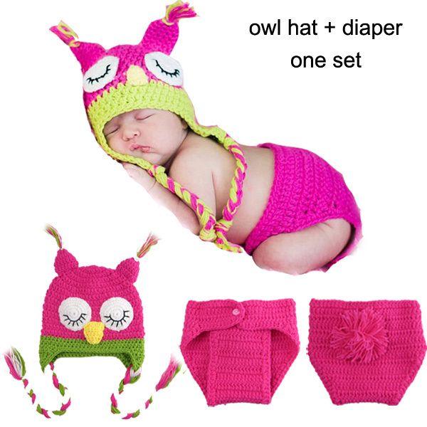 9 Designs bébé Crochet accessoires Photo infantile bébé Crochet animaux chapeaux Beanie tricoté Toddler Costume 1 pc/lote MZS-14037