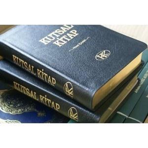 Turkish Bonded Leather Bible / Kutsal Kitap Eski ve Yeni Antlasma (Tevrat, Zebur, Incil) / Kitabi Mukaddes