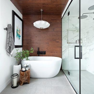 Salle de bain style spa | Décoration salle de bain | Bathroom spa ...