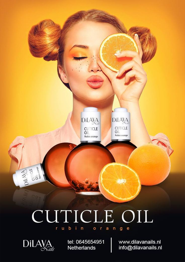 Rubin Orange Cuticle Oil
