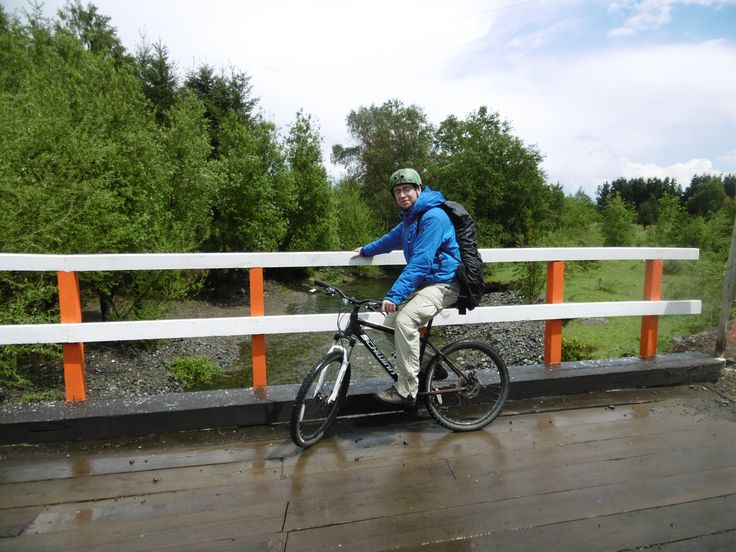 Fahrräder können überall in Pucon ausgeliehen werden.