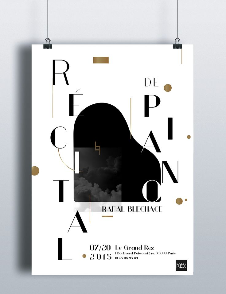 Piano CD cover & post & brochure on Behance