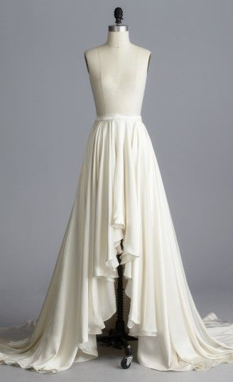 AARON SKIRT - loving the idea of wedding separates.  This skirt is by Della Giovanna