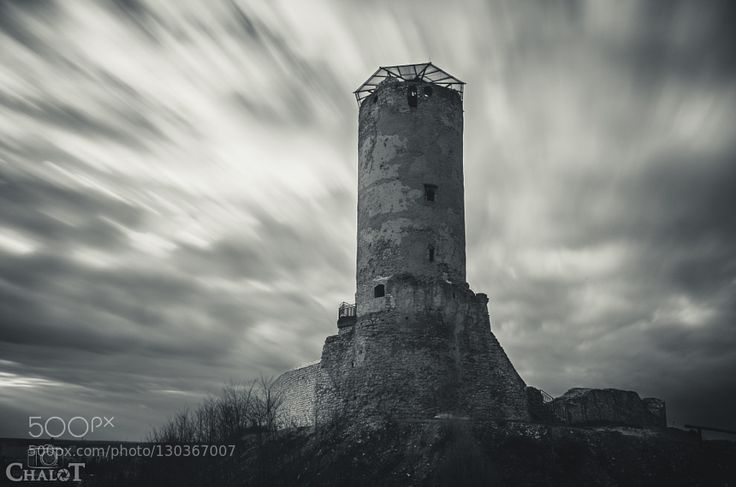 Tower Remains of Iłża castle in Poland Check more at http://ift.tt/1NSUjcQ