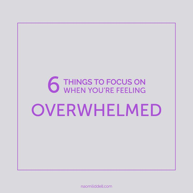 6 quick tips that will have you feeling in control in no time