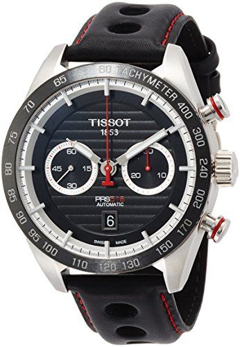 Tissot PRS 516 Chronograph Automatic Mens Watch T100.427.16.051.00 – Worldwidewatchco.