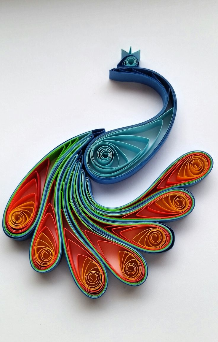 534 best quilling birds images on pinterest paper for Quilling strips designs