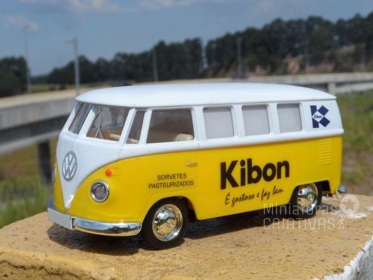 Miniatura Kombi Kibon - Assuntos Criativos