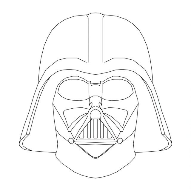 Darth Vader Mask Drawing 17 Best ideas about Da...