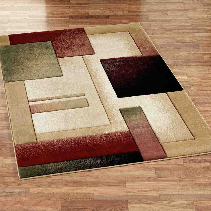 Bright And Dark Color Combinations Rug Decorating Ideas With Square Shaped Design Style Beautiful Pattern Of The Modern
