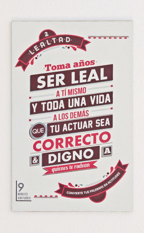 2- Lealtad.#reflexiones #infografia | Frases | Pinterest ...