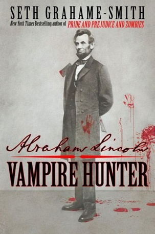 abraham lincoln: vampire hunter... seriously, it's so good. i know it sounds crazy, but read it.. it's quite interesting.