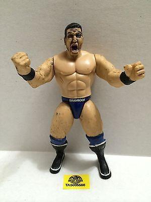 (TAS005566) - WWE WWF WCW nWo Wrestling Jakks Action Figure - Ken Shamrock