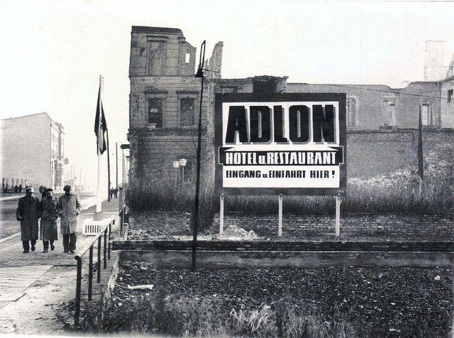 Adlon Hotel, East Berlin, 1959