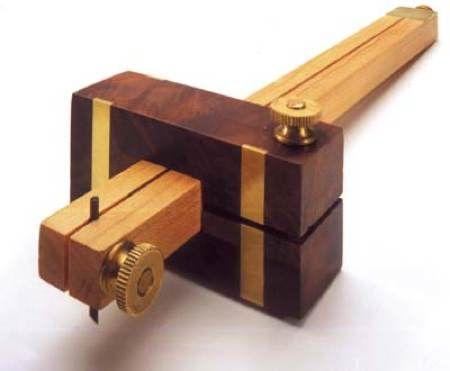 Marking Gauge Woodworking Plan
