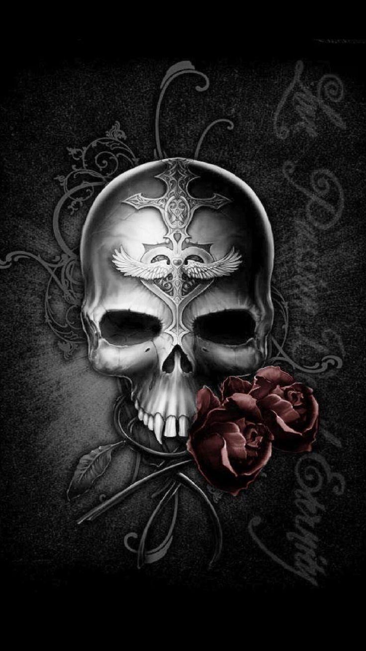 iPhone 6 Plus Wallpaper! Skull, Skull artwork, Skull art