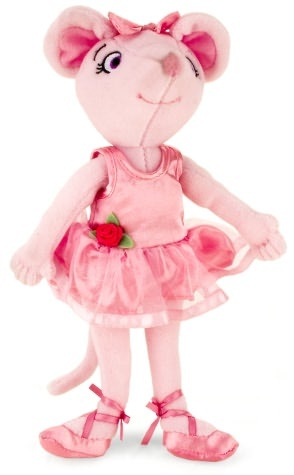 Angelina Ballerina Doll $15.95 at Barnes and Noble. She loves angelina.