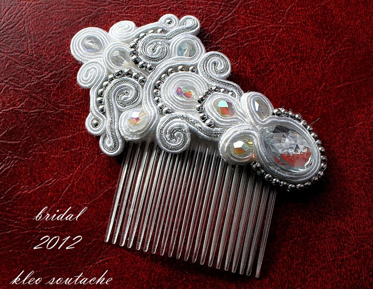 Sutasz Kleo /Soutache jewellery: bransoletka/bracelet