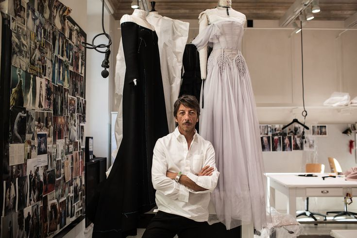 After 26 years as half of a duo (with Maria Grazia Chiuri, now at Dior), the designer works on a solo collection.