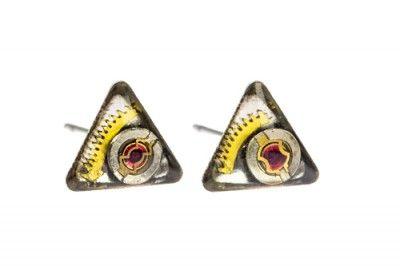 Kolczyki Triangle eye