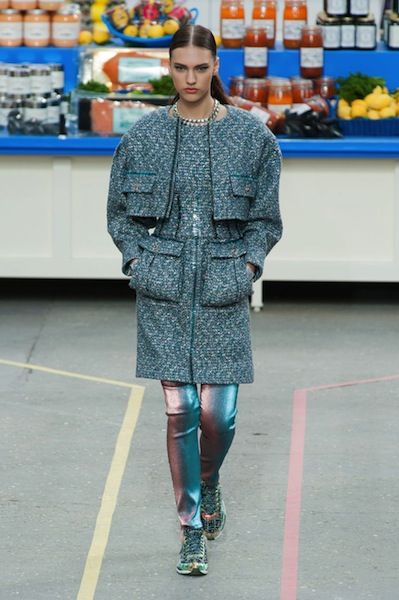 Chanel's Fall 2014 Show Took Place in a Faux Supermarket