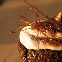 Schokoladen-Bier Cupcakes mit Whiskey Creme