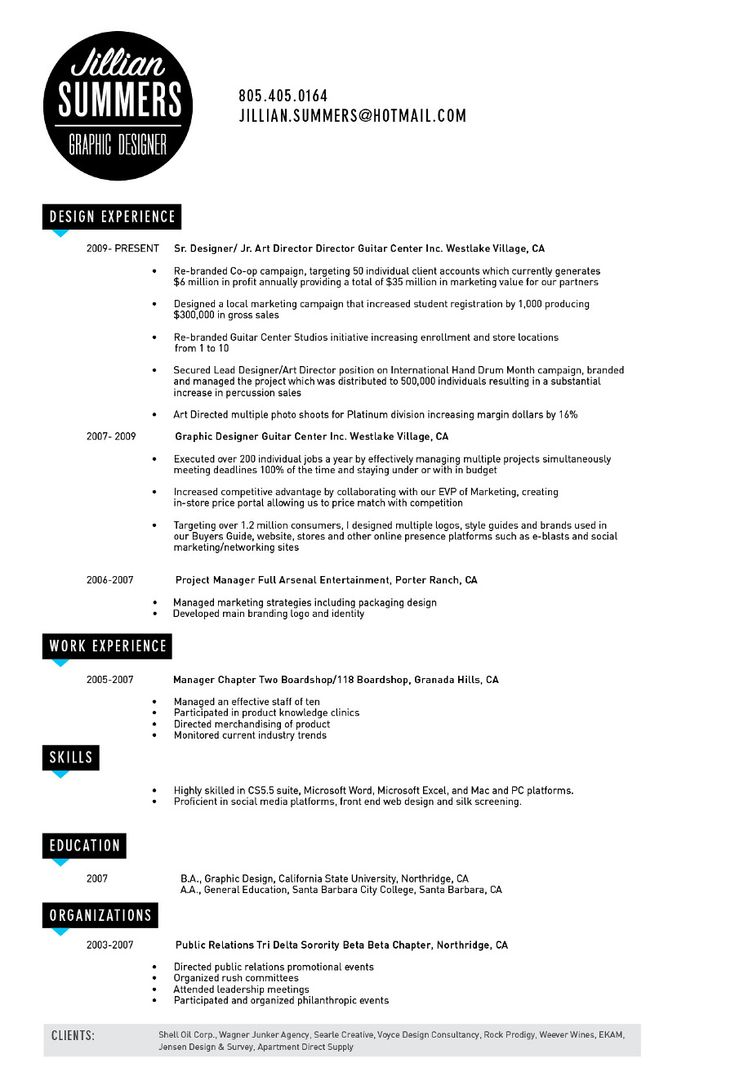 45 best resumes  cv images on pinterest