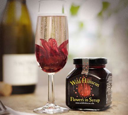 Wild Hibiscus - Fiori di Ibisco per Cocktails