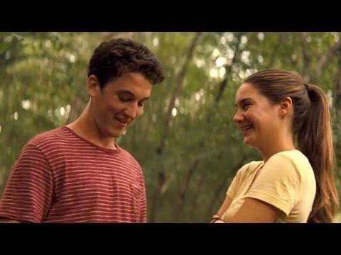 Spatial relationship, as seen in: the Spectacular Now  - he inches closer to her gradually, then takes over her space, representing the change in their relationship throughout the film