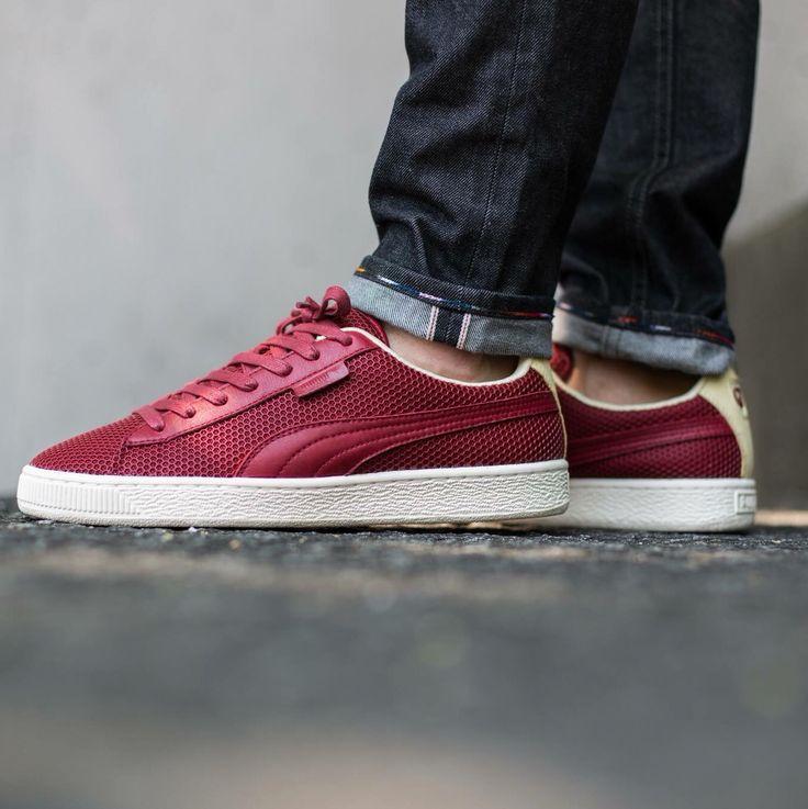 Aime Leon Dore x Puma States: Red   Sneakers men fashion, Sneakers ...