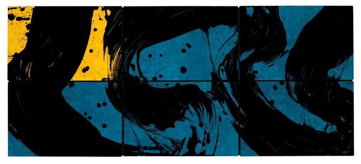 Fabienne Verdier - Contemporary Artist - L'art de la calligraphie monumentale