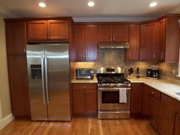 15 best kitchen ideas images on pinterest kitchen ideas for Cinnamon cherry kitchen cabinets