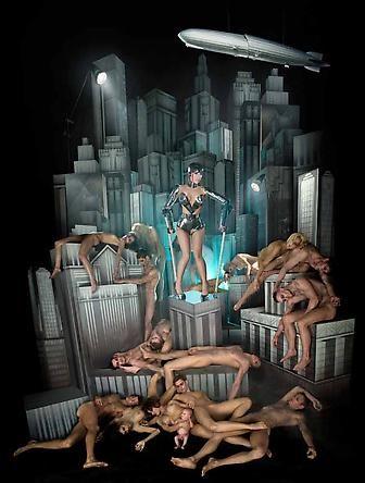 Lady Gaga: Plague Of An Ancient City, 2009 ©David LaChapelle