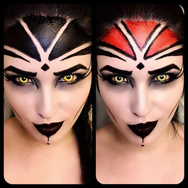 Looks like a #Sith #mugshot . Here are the two make-up tests I rejected…
