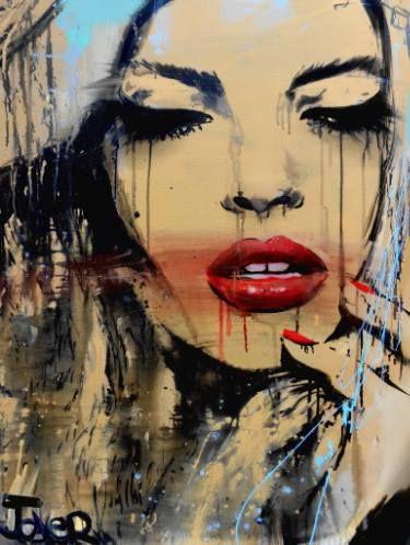 "Saatchi Art Artist Loui Jover; Painting, ""gloss"" #art"